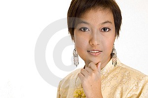 Malay Girl 14 Free Stock Images