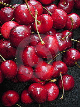 Cherry red Royalty Free Stock Photos