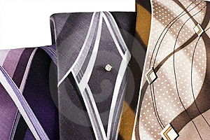 Neckties 1 Free Stock Images