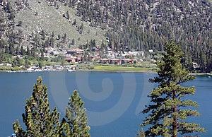 June Lake, California Royalty Free Stock Photo