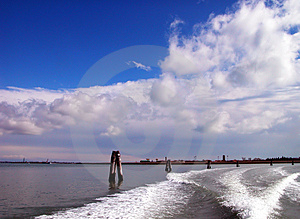 Venice Lagoon Stock Photography