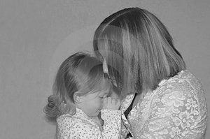 Jugendmutter/Schwestern Lizenzfreies Stockbild