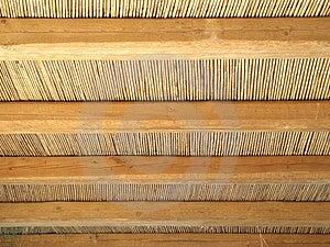 Картина крыши тросточки Стоковые Изображения
