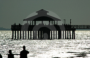 Fmb Fishing Pier Free Stock Photography