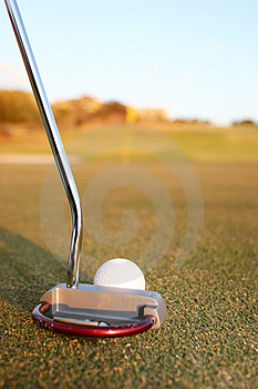Putter Royalty Free Stock Photo