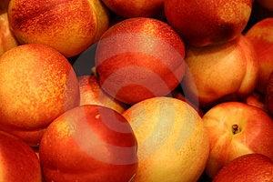 Big Red Apples Stock Photos