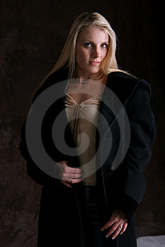 Blonde Jacket one Royalty Free Stock Photos