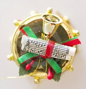 Christmas Drum Free Stock Image