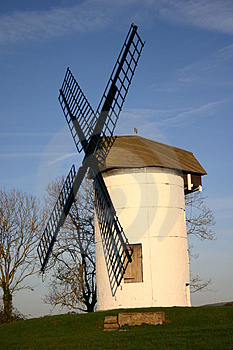 Small English Windmill Stock Image