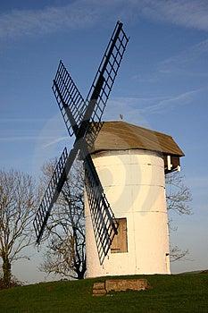 Liten engelsk windmill Fotografering för Bildbyråer