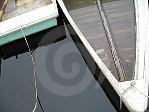 Two Rowboats Stock Photography