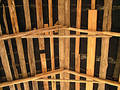 Roof from inside Stock Photo