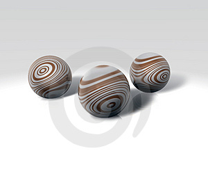 Chocolate Balls Royalty Free Stock Images - Image: 1701659