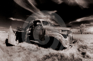 Old Truck Stock Image - Image: 1702461