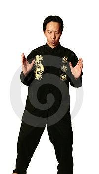 Kung Fu Boy Meditate Stock Photo - Image: 1705060