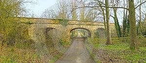 Bridge Across Road Royalty Free Stock Photo - Image: 1705685