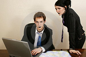 Goth Business Team Stock Photos - Image: 1707203