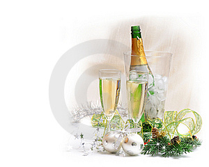 Champagne Royalty Free Stock Image - Image: 17001066