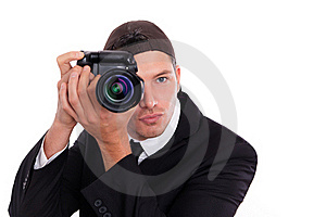 Photo Man Royalty Free Stock Images - Image: 17001349