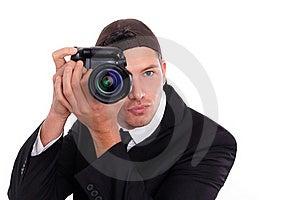 Photo Man Royalty Free Stock Images - Image: 17001349