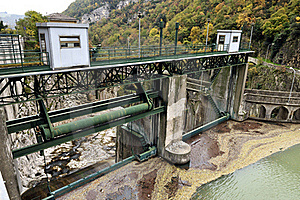 Hydroelectric Plant Stock Image - Image: 17002001