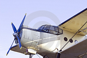 Vintage Airplane Stock Photos - Image: 17002433