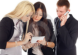 The Business Team Stock Images - Image: 17009854