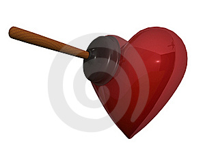 Cupid Joke Stock Photography - Image: 17009922