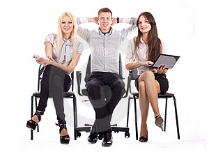 The Business Team Royalty Free Stock Images - Image: 17010059