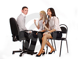 The Business Team Stock Photography - Image: 17010062