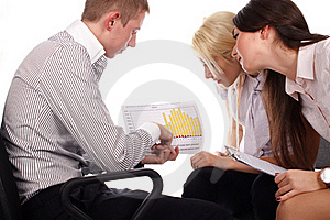 The Business Team Stock Photography - Image: 17010082