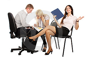 The Business Team Stock Photos - Image: 17010083
