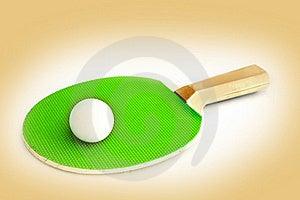 Ping Pong Racket Royalty Free Stock Photos - Image: 17010608