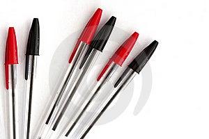 Pens Royalty Free Stock Photo - Image: 17010675