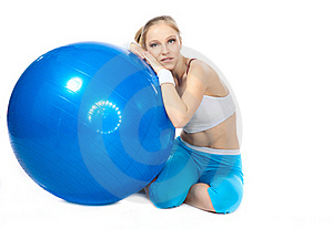 Woman In Fitness Royalty Free Stock Photos - Image: 17012828