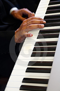 Hands Of Pianist Royalty Free Stock Photography - Image: 17013707