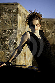 Beautiful Woman On A Sunny Day Stock Photos - Image: 17018683