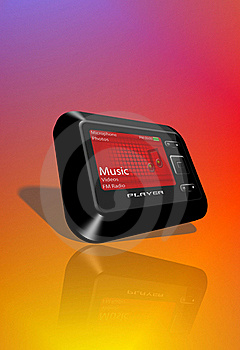 Mp3 Player Royalty Free Stock Images - Image: 17022519