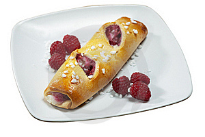 Raspberry Danish Pastry Stock Photography - Image: 17023092