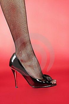 Woman's Leg Stock Photo - Image: 17026080