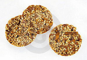 Cookies With Pumpkin And Sunflower Seeds Stock Photography - Image: 17032142
