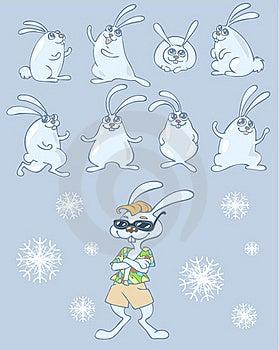 Rabbits Stock Photography - Image: 17032742