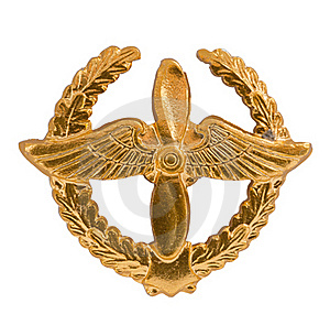 Emblem Of The Air Forces Stock Photography - Image: 17035652