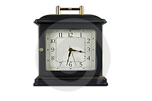 Old Style Clock Royalty Free Stock Photography - Image: 17037887