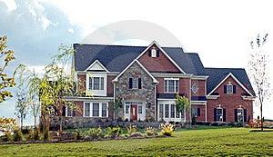 Stone Luxury Home 92 Stock Photography - Image: 17039432
