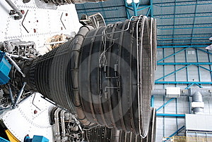Saturn V Rocket Engine Royalty Free Stock Images - Image: 17039469
