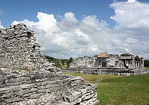Tulum Palaces Royalty Free Stock Photos - Image: 17042618