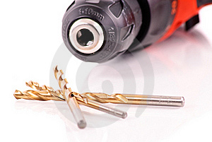 Drill Bits Royalty Free Stock Images - Image: 17042619