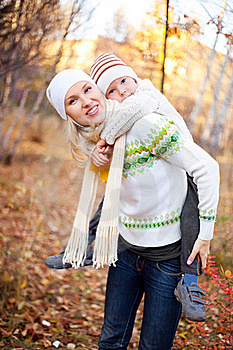 Mother And Son Stock Photos - Image: 17043183
