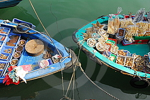 Boat Selling Royalty Free Stock Photography - Image: 17051367